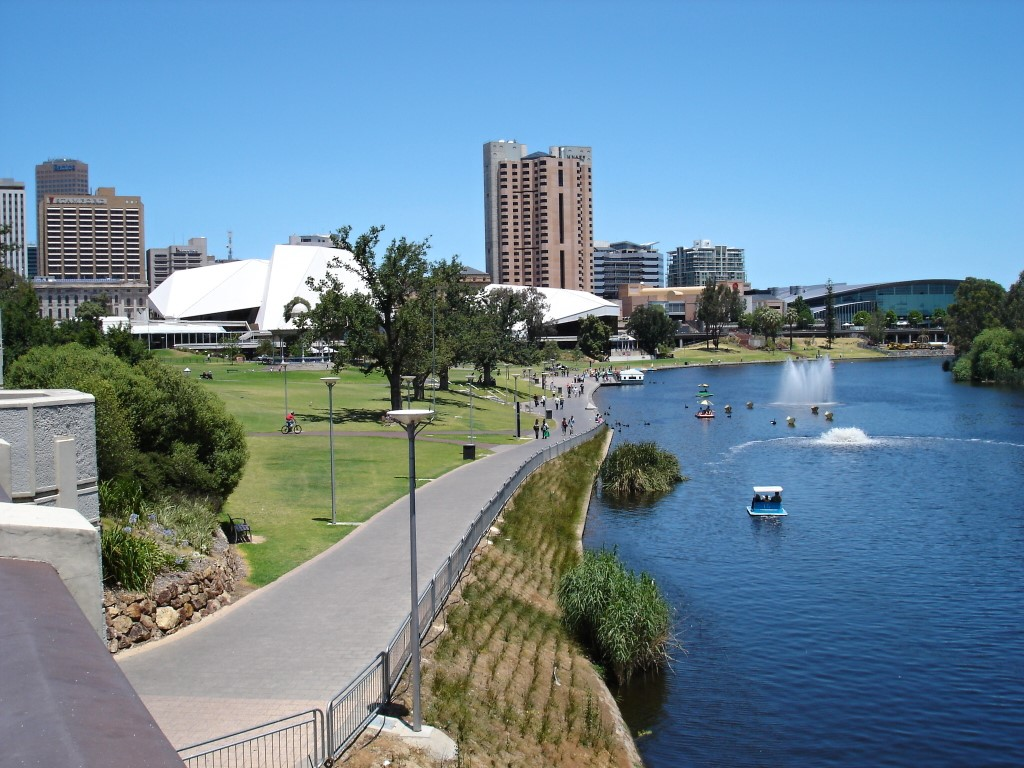 Adelaide Torrens River
