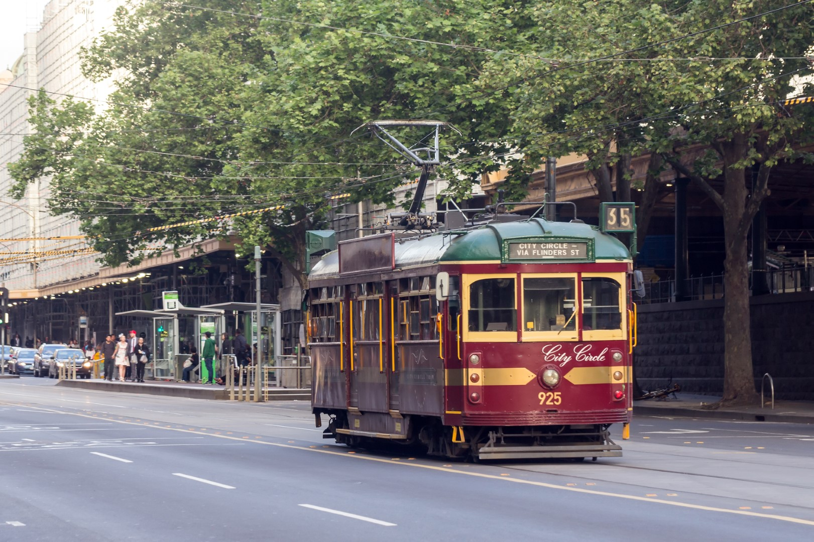 Melbourne City Tram Melbourne 2017 10 28 Large